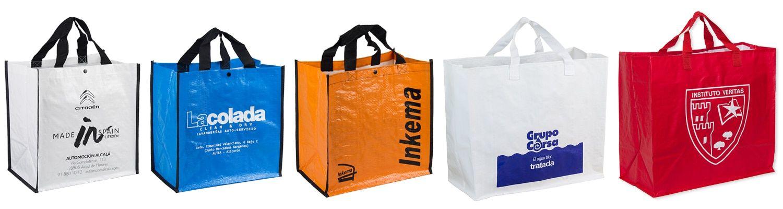 Bolsas de rafia para la compra